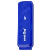 Флеш Диск 16GB SMARTBUY Dock, USB 2.0, синий
